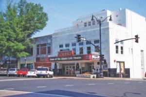 The Strand Theatre in Marietta