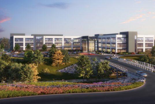 Edison Chastain Office Development rendering