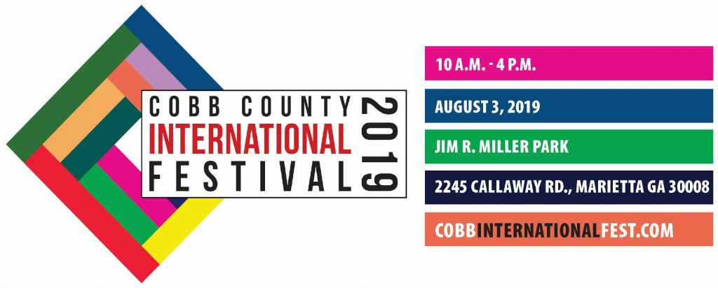Cobb International Festival logo