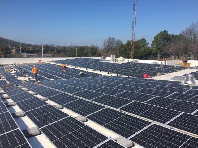Cobb EMC solar panels
