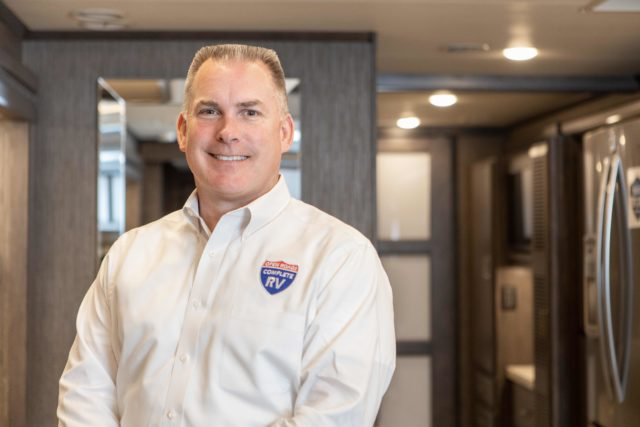 Drew Tutton, owner of Open Roads Complete RV in Acworth, Georgia.
