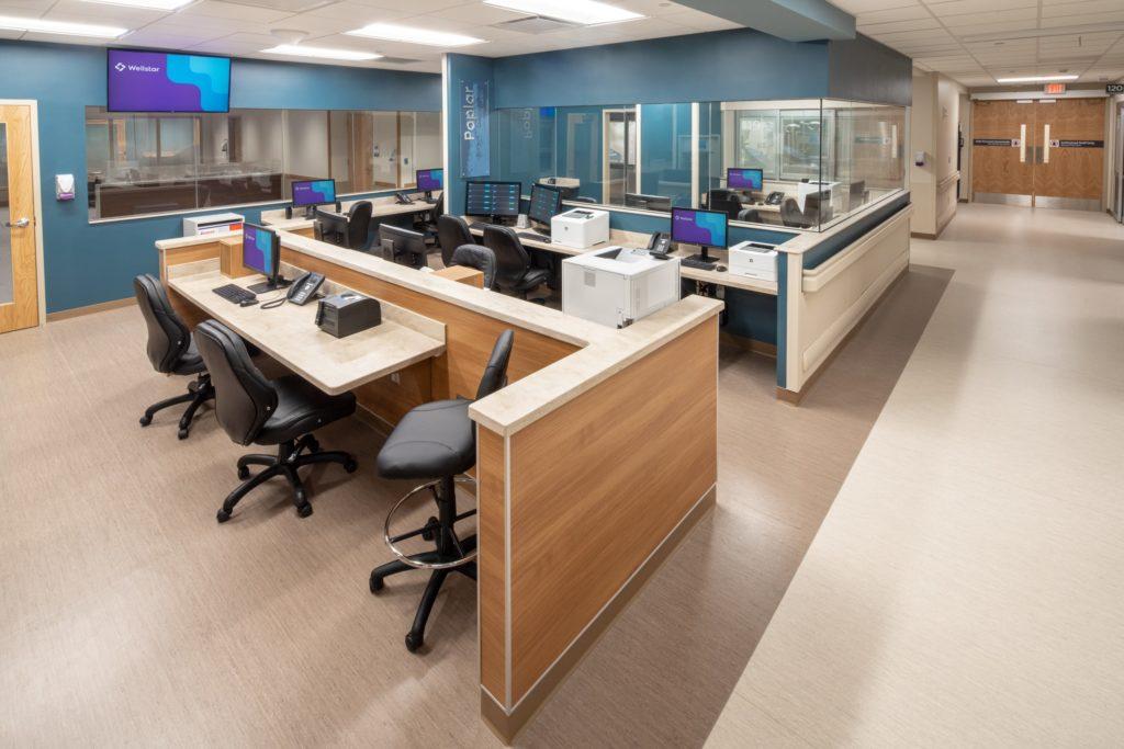 Wellstar Kennestone Emergency Department interior