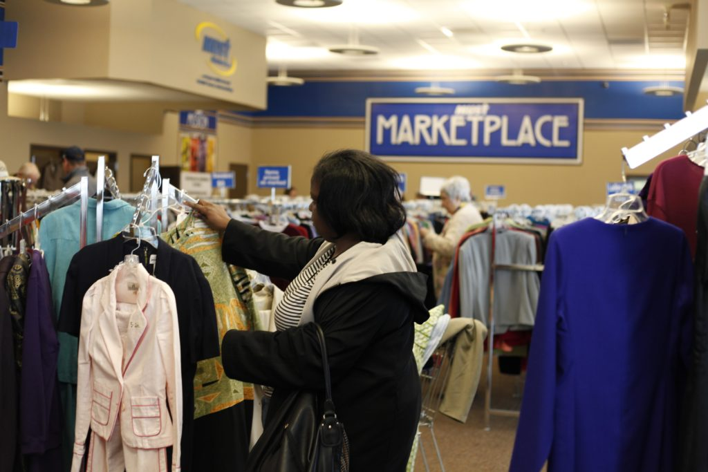 MUST Ministries Marketplace interior
