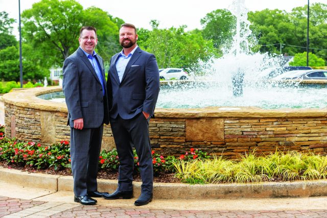 Wesley Starrett (right) and Kevin Harris, attorneys and partners at Starrett and Harris Law, LLC. Photo: LaRuche Creative
