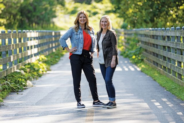 TCCID Executive Director, Tracy Styf (left), and Town Center Alliance Director, Jennifer Hogan, are creating spaces and places where people want to be.